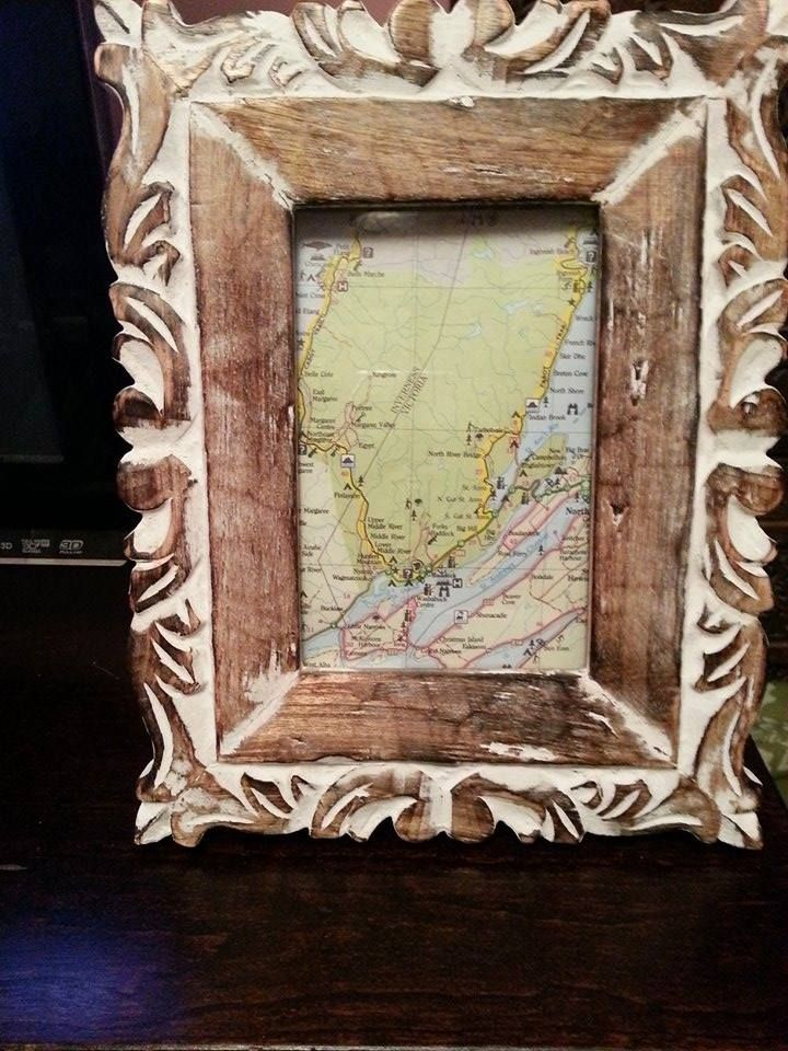 This month's DIY is all about the idea of traveling and showing off all the places you've been, or would like to visit. People are getting away from the traditional idea of photo albums and simple framed pictures, and are coming up with more unique ways to showcase their vacation pictures and souvenirs.   Check out this great link (http://www.brit.co/diy-maps/) with many great ways to reuse a map, and start showing off all the wonderful places you've been and are getting ready to go see.