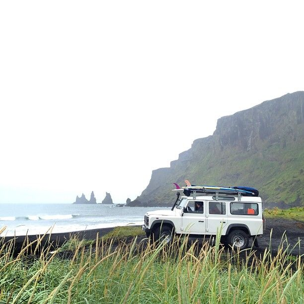 Surfing Land Rover