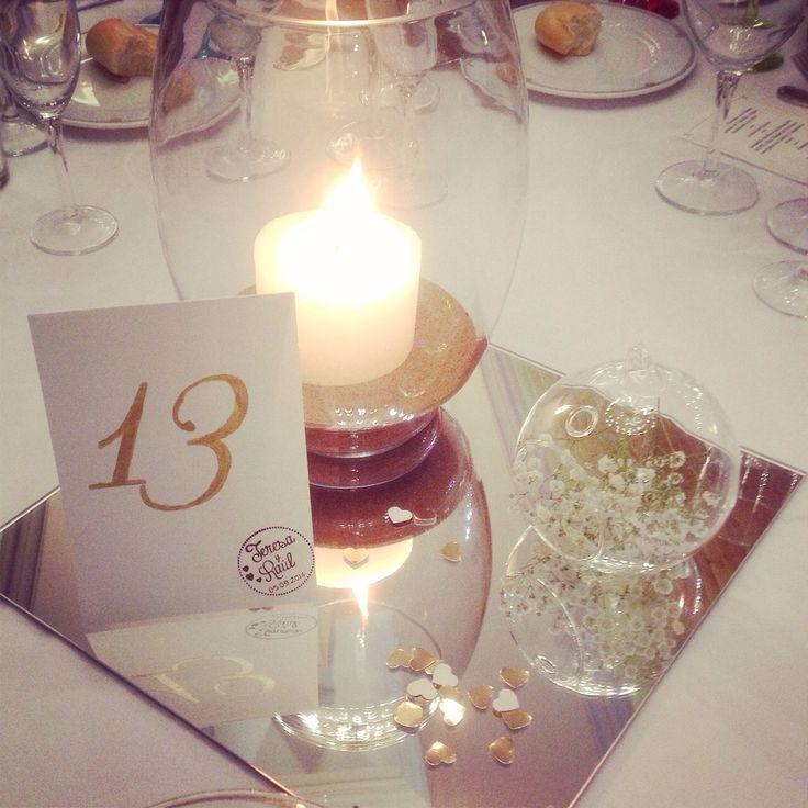 Puedes utilizar los Lightbubbles para montar los centros de mesas de tus invitados... quedara muy elegante.