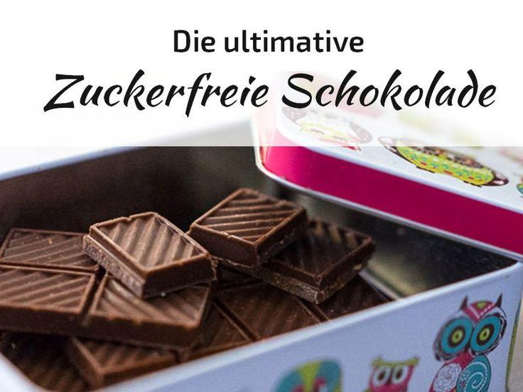"""Oh, wie ich Schokolade liebe! Dieses schmelzende Gefühl auf der Zunge, der kräftige Geschmack ... ich mag einfach alles! Mehrmals täglich habe ich einen echten """"Ich brauch Schokolade! Sofort!""""-Moment. Wäre es nicht toll, wenn ich dann auch zuckerfreieSchokolade essen würde? Mittlerweile tue ich das – ganz ohne Reue. Seit ich festgestellt habe, dass ich sensibel auf übermäßig"""