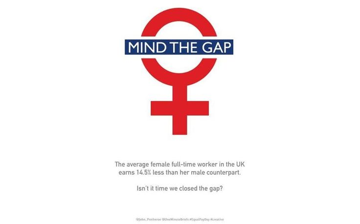 Equal Pay Day falls on November 9, when the gender pay gap means that women   stop earning relative to men for the rest of the year. Here are 14 ways to   visualise the 14.5pc difference in men's and women's average salaries