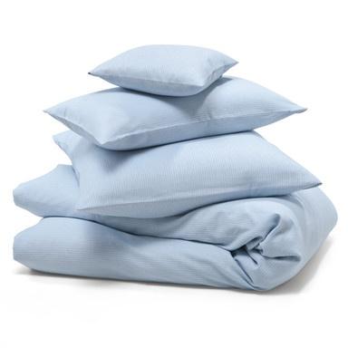 Bettbezug Mühlviertler Leinen 135 x 200 cm Hellblau | Bettwäsche