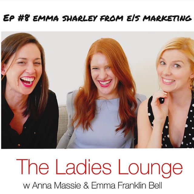 How do you jump ship from working in marketing for Westfield to running your own marketing consultancy? Learn the start-up tips and daily routine of Emma Sharley from E | S Marketing. This lady knows her stuff! Tune in and subscribe here to find out all https://itunes.apple.com/au/podcast/the-ladies-lounge/id1135933189?i=374651356&mt=2