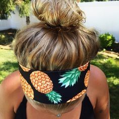 pineapple headband Brand new pineapple headband... Made from spandex material so it's one size fits all Accessories Hair Accessories