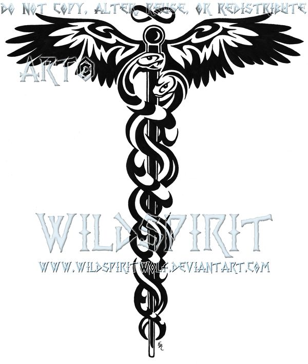 7 Best Caduceus Tattoo Images On Pinterest Caduceus Tattoo Tattoo