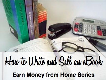 How to Write and Sell an eBook for Income * I've been thinking about writing a novella about my whitewater adventures, c. 2003-2005...