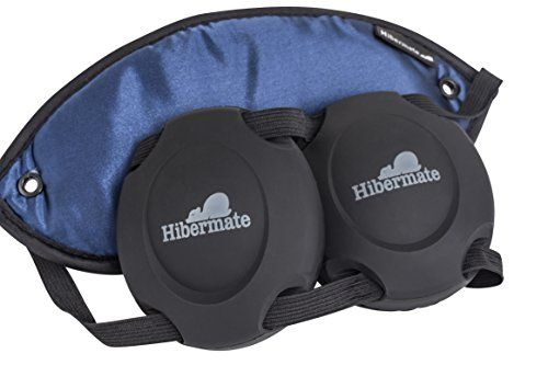 New! Hibermate Sleep Mask with Soft Ear Muffs for Sleeping. Patent Pending, Soft & Luxurious Mask, Satin Exterior, Jersey Cotton Interior, Removable Silicone Ear Muffs Reduce Noise By Approx 15-20db Nrr. (Dark Navy)  http://www.personalcareclub.com/new-hibermate-sleep-mask-with-soft-ear-muffs-for-sleeping-patent-pending-soft-luxurious-mask-satin-exterior-jersey-cotton-interior-removable-silicone-ear-muffs-reduce-noise-by-approx-15-20/