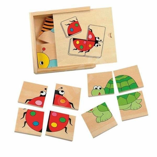 Puzzle Woody Minipuzzle - Beruška
