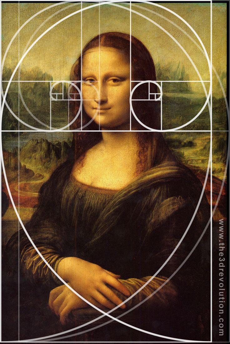mona lisa and fibonacci sequence - Google Search ...