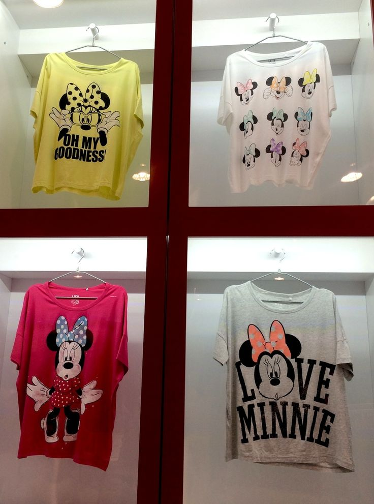 i love the yellow one!! Your First Look at the New Disney Collection from UNIQLO | Fashion | Disney Style