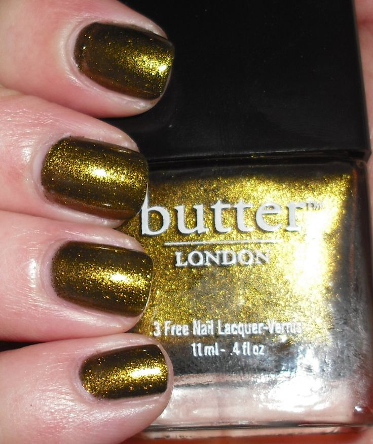 Imperfectly Painted: Butter London Wallis