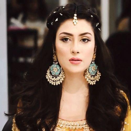 "Pakistani Actress Hairstyles: Pakistaninstagram: ""Pakistani Actress Aiza Khan"