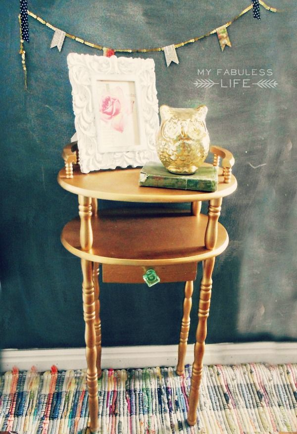 So you have an awesome piece of furniture that needs a serious makeover. And you are just itching to grab a can of spray paint and go at it! But you're not so sure if spray paint is right for your piece of furniture? Well, Jen is here in Part 3 of he