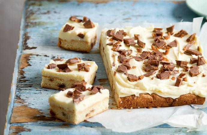 Cheesecake liefhebbers opgelet! Als jij net zo dol op deze taart, witte chocolade én Daim bent als wij dan ga jij ook deze variant met open armen ontvangen.