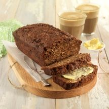 Apple Molasses Tea Loaf