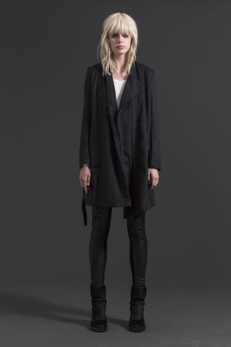Nighthawk Coat | Gunrunner Skinnies #wool #coat #winter #fashion #companyofstrangers