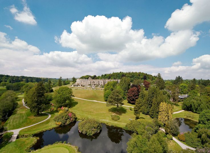 Bovey Castle Hotel North Bovey, South West England sky tree Nature cloud photography bird's eye view leaf rural area landscape aerial photography national trust for places of historic interest or natural beauty grass mount scenery field Village land lot lush day