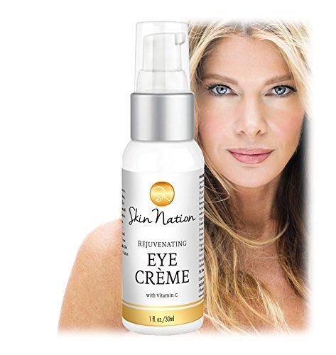 Rejuvenating Eye Crme Creating a Youthful Glow with AntiAging Organic  Natural Ingredients MSM Vit C  TriPeptides that Fight FreeRadicals Skin Nation by Michelle Stafford >>> Check out the image by visiting the link.