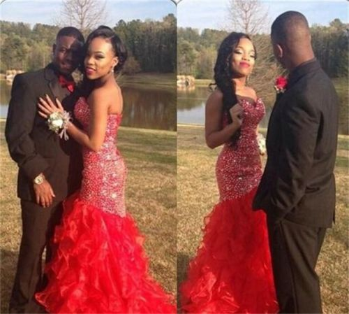long prom dress, red prom dress, gorgeous prom