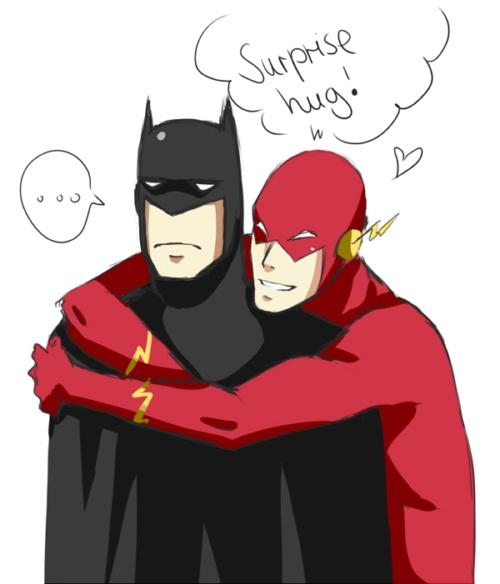 flash quotsurprise hugquot batman geek pinterest flies