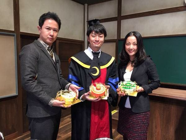 Sugita Tomokazu & Fukuyama Jun in Assassination Classroom.