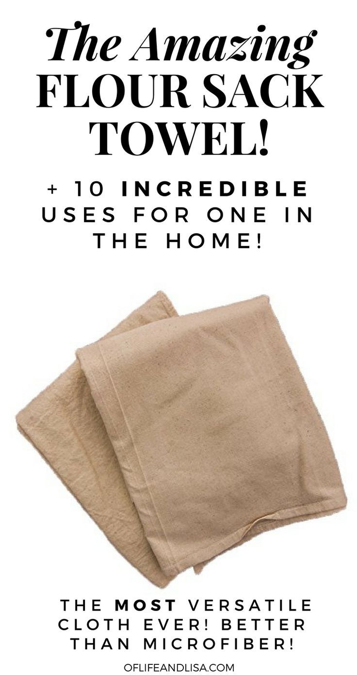 10 Amazing Household Uses For Flour Sack Towels Top Creative Cool Ideas Pinterest Cleaning Homemaking And