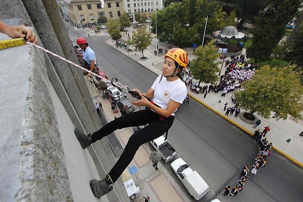 Día mundial de la actividad física 2013, Plaza de Armas de Talca.