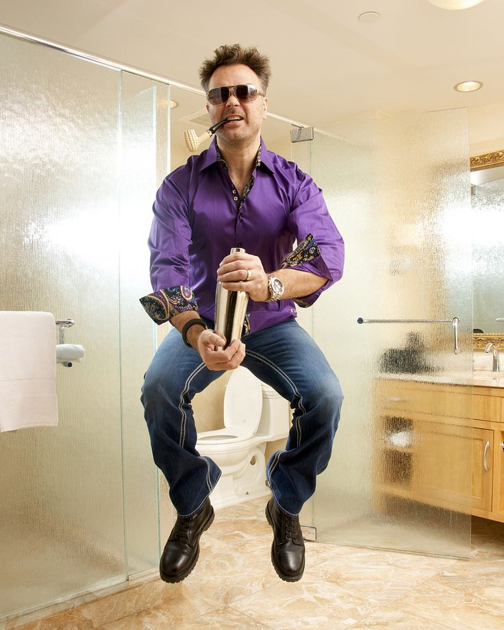 The Sexiest Man On Earth #crazy #martini #sexy #bathroom #sexiest #man #purple #toilet #pipe
