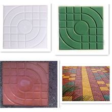 Nieuwe DIY Vierkante Tuinpad Beton Plastic Brick Mold Bestrating Propyleen Bestrating Loopbrug 27x27x4 cm Tuin gebouwen Accessoires(China (Mainland))