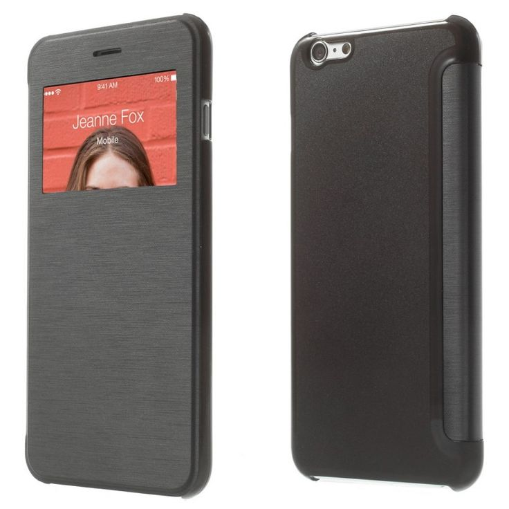 Etui Folio iPhone 6 Plus - Noir