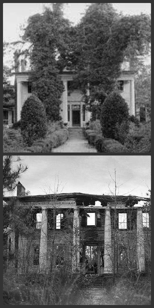 23 best images about abandoned before after on pinterest Southern living change of address