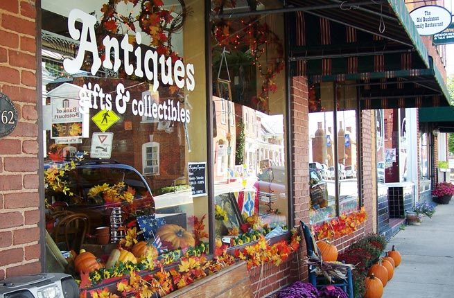 VA: Buchanan, Virginia - Virginia's Buchanan, a small town of about 1,178 people, is positioned right at the foot of the Blue Ridge Mountains and is the perfect destination for antique dealers seeking premium vintage wares.