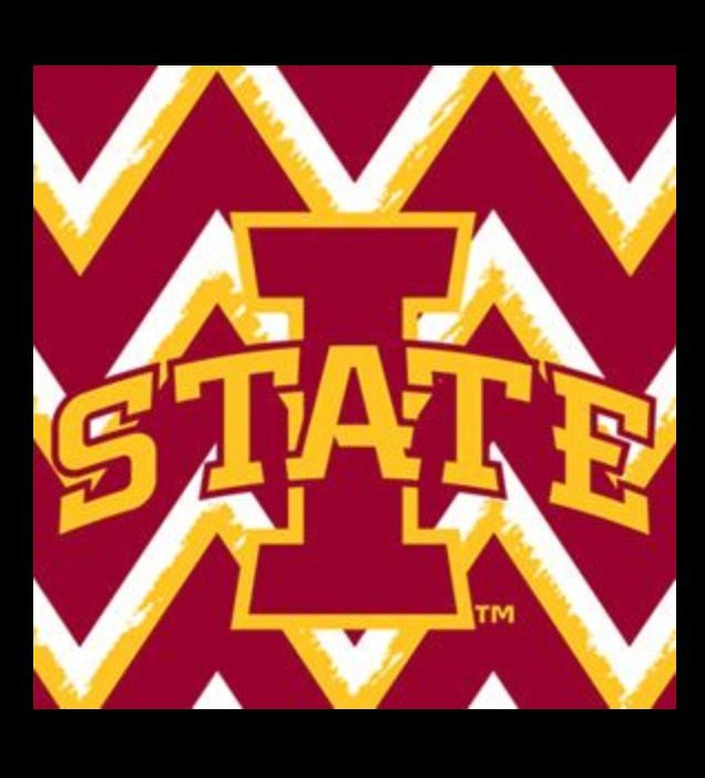 Iowa state cyclones! Go state!