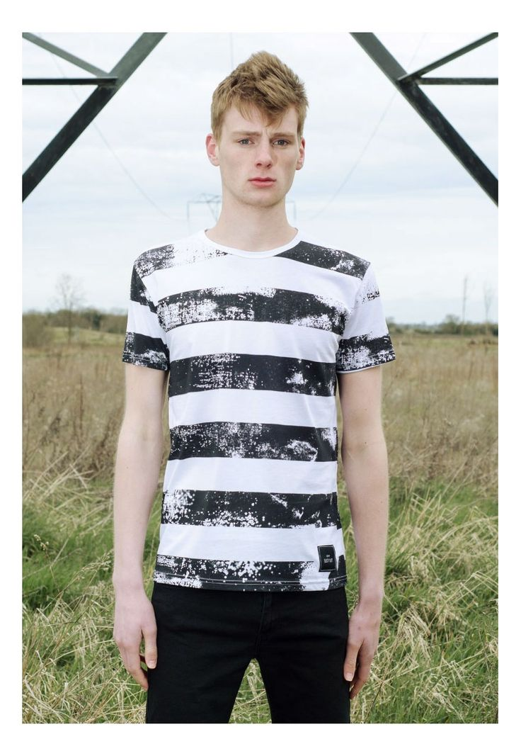 Stripes Cotton Regular Fit T-shirt Streetwear   Bust Out Clothing   ASOS Marketplace