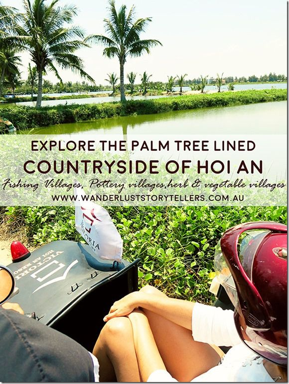 A Journey through the Palm Tree lined Local Villages of Hoi An Travel, Vietnam, Hoi An