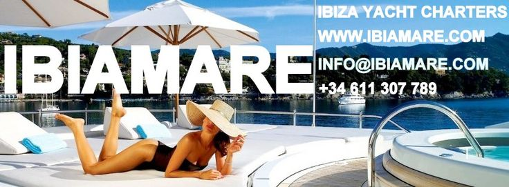 Renting a yacht through IBIAMARE - YACHT CHARTERS IBIZA goes infinitely beyond an online booking. We await you on arrival to guide you in and around your extremely luxurious and very well maintained yacht. Every detail is thought out, from cooks to captain, tender to the well maintained yacht. It goes without saying that we are at your service day and night, for advice and personal service
