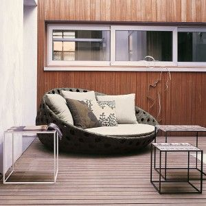 Contemporary Outdoor Furniture Optional