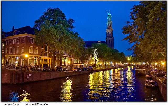 Amsterdam: the city of canals, red lights, and all things green