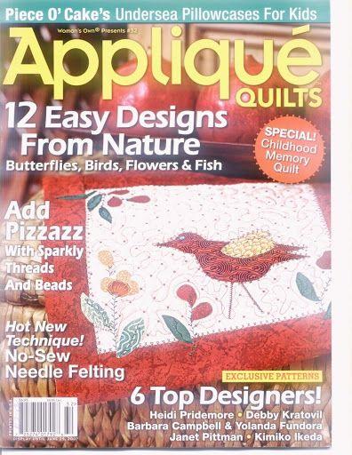 Applique Quilts - Cida Mattos - Picasa Web Albums