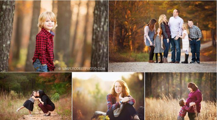 Fall Mini Sessions by Atlanta family photographer, Simply Corey Photography