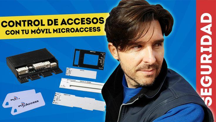 En esta DomoAventura instalaremos el control de accesos Microaccess para poder abrir una puerta con cerradura eléctrica y desde el móvil con tecnología NFC