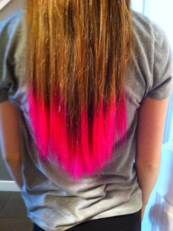 Diy Koolaid Hair Dye Tutorial I Did This With Red Koolaid For Fourth