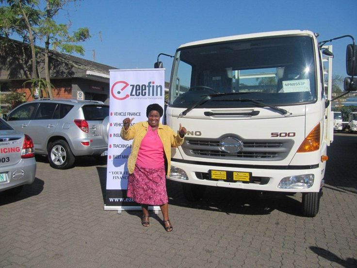 EZEEFIN GOES COMMERCIAL :)   Congratulations to Mrs Cibane on her Hino Truck Delivery. We wish you all the best in your business ventures :)