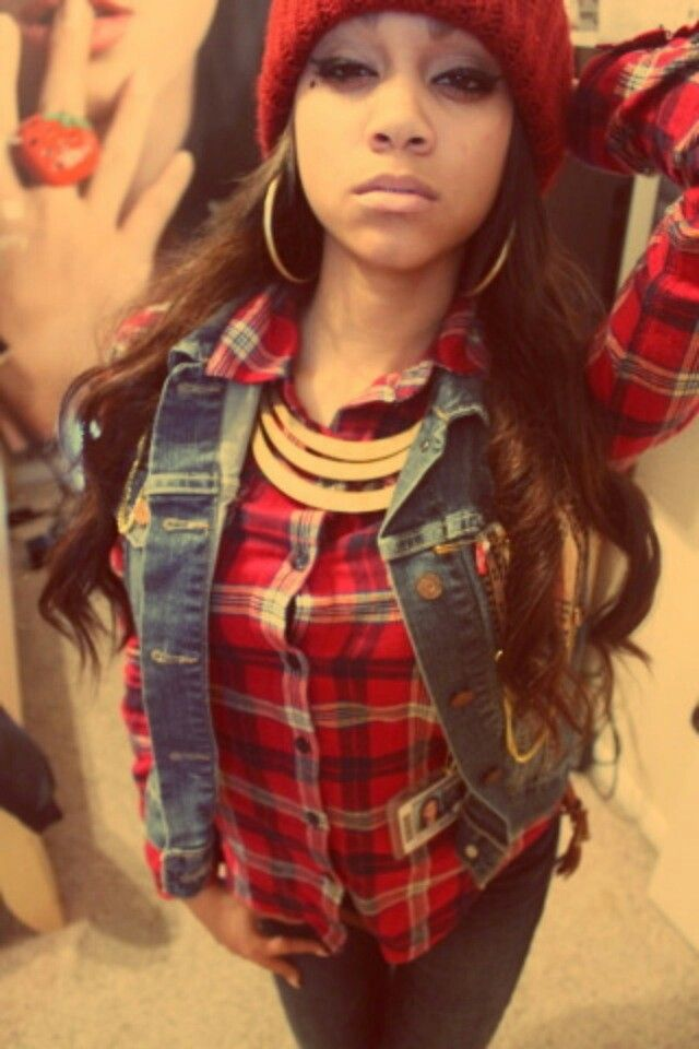 pretty mixed girls with swag - 500×750