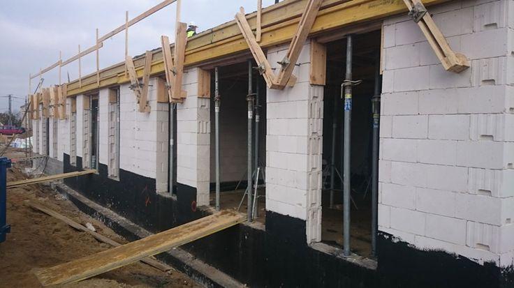 Budowa mieszkań w Rumi - Osada Kazimierza - Listopad 2015