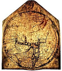 Hereford Mappa Mundi - Wikipedia