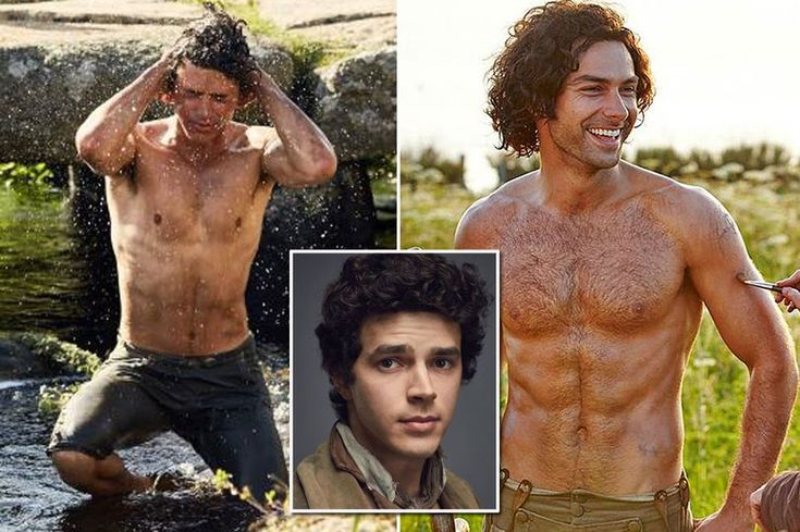 It's a battle of the chests on Poldark as hunky new boy Harry Richardson takes on Aidan Turner in the topless stakes - Mirror Online