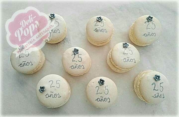 #macaronsdechocolateblanco #macarons #25aniversario