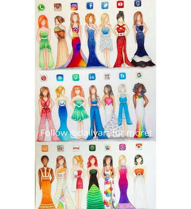 vestido de redes sociales - Buscar con Google