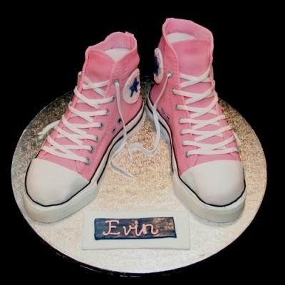 Converse taart.
